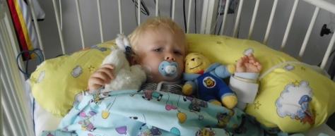 Abbildung: Tayler im Krankenhaus