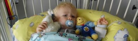 Abbildung: Taylor im Krankenhaus
