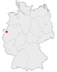 Abbildung: Deutschlandkarte, Dinslaken