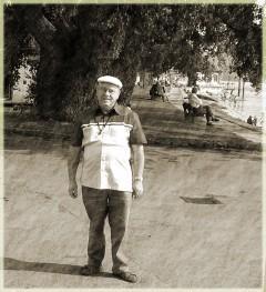 Abbbildung: Edgar im Urlaub am Bodensee