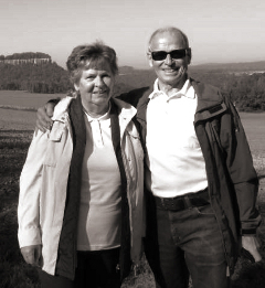 Abbildung: Hildegard und Werner
