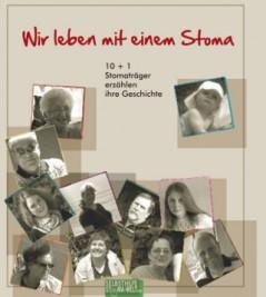 """Abbildung: Broschüre """"Wir leben mit einem Stoma"""""""