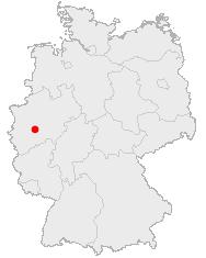 Abbildung: Deutschlandkarte, Köln