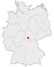 Deutschlandkarte, Suhl