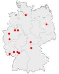 Abbildungen: Deutschlandkarte, Welt-Stoma-Tag