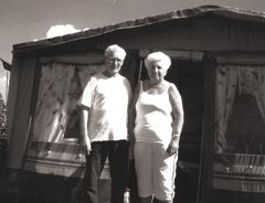 Abildung: Luise und Jean in der Bretagne