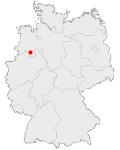 Deutschlandkarte: Osnabrueck
