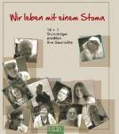 """Abbildung: Titelblatt der Broschüre """"Wir leben mit einem Stoma"""""""