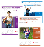 Abbildung: Welt-Stoma-Tag Kalender 2013
